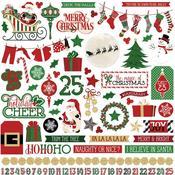 Sticker Sheet - Here Comes Santa - Photoplay
