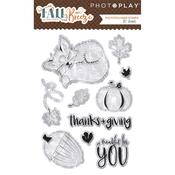 Fall Breeze Clear Stamps - Photoplay
