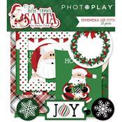 Ephemera Die-Cuts - Here Comes Santa - Photoplay
