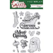 Here Comes Santa Stamps - Photoplay