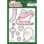 Etched Dies - Here Comes Santa - Photoplay
