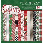 Paper Pad 6x6 - Here Comes Santa - Photoplay