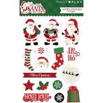 Puffy Stickers - Here Comes Santa - Photoplay