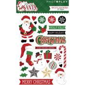 Epoxy Stickers - Here Comes Santa - Photoplay - PRE ORDER
