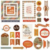 Fall Breeze Ephemera Cardstock Die-Cuts - Photoplay