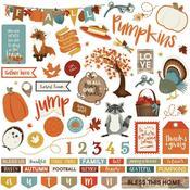 Fall Breeze Sticker Sheet - Photoplay