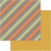 Breezy Stripes Paper - Fall Breeze - Photoplay