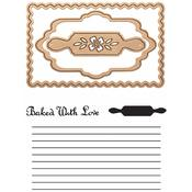 Recipe Card Spellbinders Stamp & Die Set