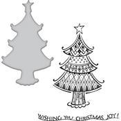 Christmas Joy Spellbinders Stamp & Die Set - PRE ORDER