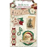 Layered Chipboard - Yuletide Carol - BoBonny