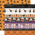 Border Strips Paper - Bewitched - Echo Park - PRE ORDER