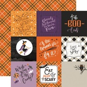 4 X 4 Journaling Card Paper - Bewitched - Echo Park