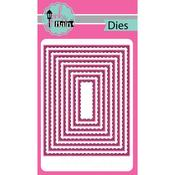 Stitched Retangles Dies - Pink & Main - PRE ORDER
