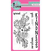 Kindness Floral Clear Stamp - Pink & Main - PRE ORDER