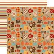 Pumpkin Farm Paper - Celebrate Autumn - Echo Park