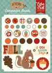 Celebrate Autumn Decorative Brads - Echo Park - PRE ORDER