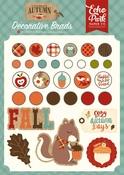 Celebrate Autumn Decorative Brads - Echo Park