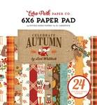 Celebrate Autumn 6 x 6 Paper Pad - Echo Park