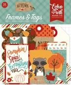 Celebrate Autumn Frames & Tags - Echo Park