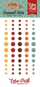 Celebrate Autumn Enamel Dots - Echo Park - PRE ORDER