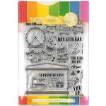 Gym Rat Stamp & Die Set - Waffle Flower Crafts