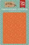 Embossing Folder - Autumn Floral - Echo Park
