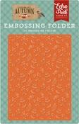 Embossing Folder - Autumn Floral - Echo Park