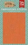 Embossing Folder - Wood Grain - Echo Park - PRE ORDER