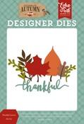 Thankful Leaves Die Set - Echo Park - PRE ORDER