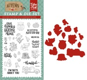 Nuts About You Die & Stamp Set - Echo Park