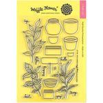 Spice Garden Clear Stamp - Waffle Flower Craft