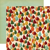 Autumn Trees Paper - Fall Break - Carta Bella