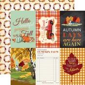 4 X 6 Journaling Card Paper - Fall Break - Carta Bella