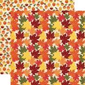 Crunchy Leaves Paper - Fall Break - Carta Bella