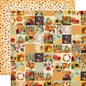 Fall Squares Paper - Fall Break - Carta Bella