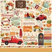 Fall Break Sticker Sheet - Carta Bella