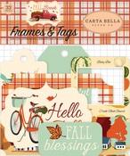 Fall Break Frames & Tags - Carta Bella