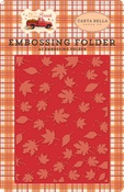 Embossing Folder - Whisking Leaves - Carta Bella - PRE ORDER
