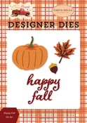 Happy Fall Die Set - Carta Bella