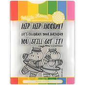 Hip Hip Hooray Stamp & Die Set - Waffle Flower