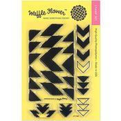 Arrowhead Clear Stamp - Waffle Flower