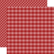 Red Gingham Paper - Gingham - Echo Park