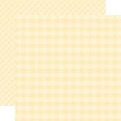 Cream Gingham Paper - Gingham - Echo Park
