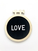 Love Letterboard Embellishment - Magnolia Moments - Fancy Pants