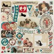 Companions Details Sticker Sheet - Authentique