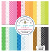 So Much Pun Petite Prints Paper Pack - Doodlebug
