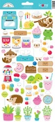 So Much Pun Too Icon Sticker Sheet - Doodlebug - PRE ORDER