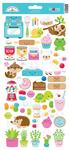 So Much Pun Icon Sticker Sheet - Doodlebug