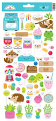 So Much Pun Icon Sticker Sheet - Doodlebug