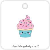 Cupcake Collectible Pins - Doodlebug